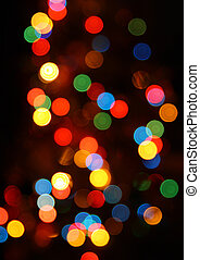 defocused ?olored circular lights backgrounds