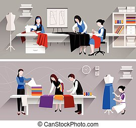 Sewing Studio Design Template - Sewing studio tailor shop...
