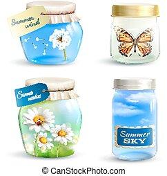 Summer Jar Set