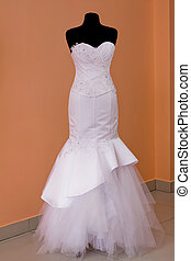 Wedding Dress - beautifully sewn wedding dress