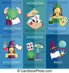 Fortune Teller Poster - Fortune teller mini poster set with...