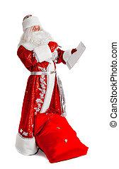 santa, Claus,