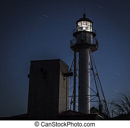 Whitefish Point Lighthouse - Lit in 1849, the Whitefish...