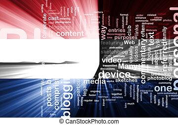 Flag of Netherlands blog