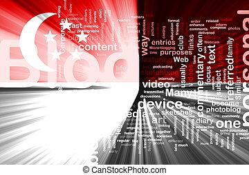Flag of Singapore blog