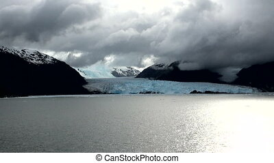 Chile - Amalia Glacier - Chile - South Patagonia - Amalia...