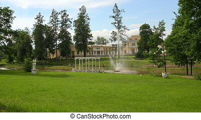 The estate Marino in the Leningrad region 4K - The estate...