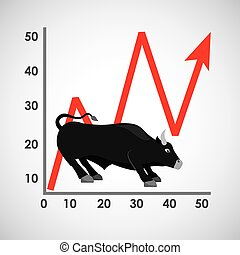stock exchange design, vector illustration eps10 graphic