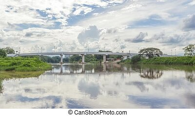 Bridge in Chiang Rai, Thailand