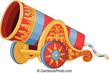 Cannon - Illustration of huge cannon