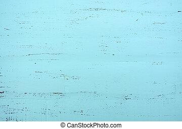Aqua green blue rustic wood background. - Aqua green blue...