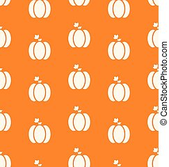 Seamless Pattern Pumpkin