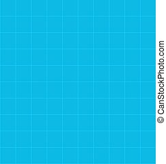 Seamless Background with Blue Tiles