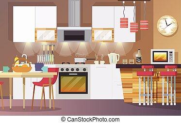 Kitchen Interior Flat