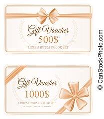 Elegant Gift Cards Set