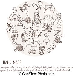 Hand Made Sketch Concept - Hand made concept with sketch...