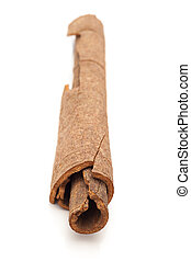 Close up of Cinnamon stick - Close up of Cinnamon stick...