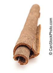 Close up of Cinnamon stick. - Close up of Cinnamon stick...