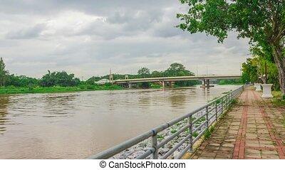 Bridge in Chiang Rai, Thailand