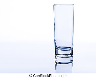 Empty Drinking Glass Cup - Empty drinking glass cup isolated...