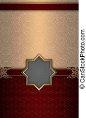Decorative background design - Decorative background with...