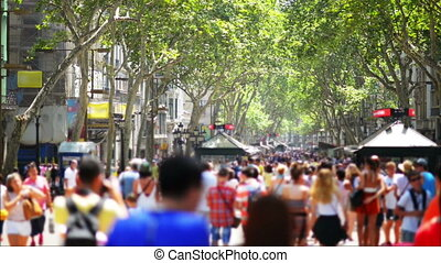 Crowdy Street - Crowdy street in Barcelona Spain