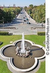 Fountain in Munchen