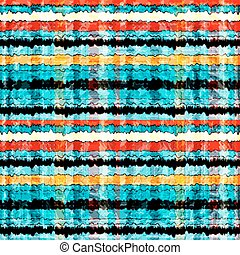 waves and lines psychedelic abstract background vector illustration