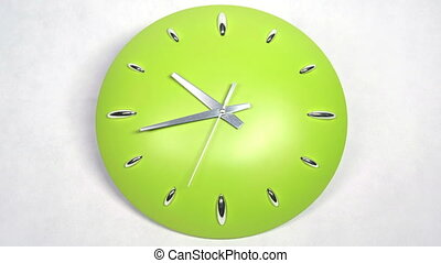 Clock Fast Time Moving Forward - Stylish clock ticking...