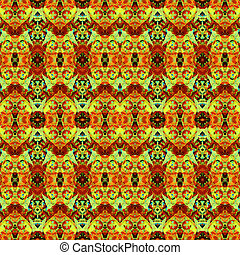 Geometric Modern Ornate Seamless Pattern - Luxury decorative...