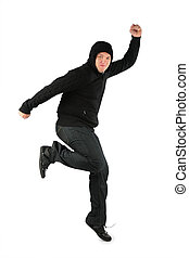 hombre, bailando