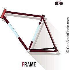 Fixed Gear Bike Frame