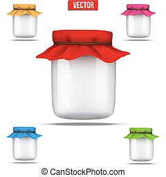 Glass Jar for home canning. - Glass Jar for home canning and...