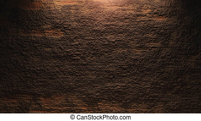 Rock wall background brown - surface of the rock...