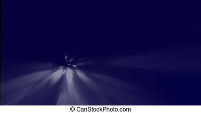 Mysterious abstract background depth and shape Loop dark...