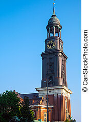 The tower of St. Michaelis church - The tower of St.the...