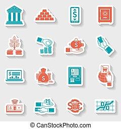 Banking Sticker Set