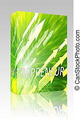 Entrepreneur management success box package