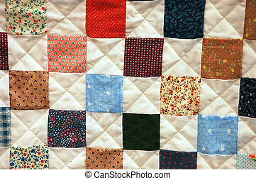 Colorful quilt design - Colorful patchwork quilt design