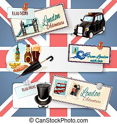 London Touristic Banner Set