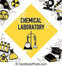 Laboratory corner concept - Laboratory corner chemistry...
