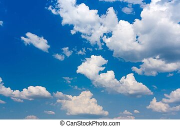 Sky background.eps - Background of the blue sky and clouds