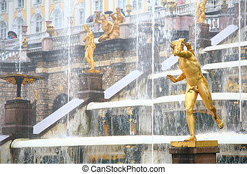 Large cascade in Peterhof