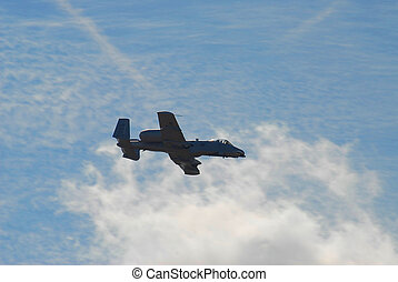 air show - jet photographed at air show in georgia