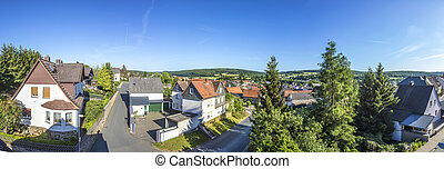 old village in the taunus region in Waldsolms - old typical...
