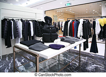 Outer clothing department