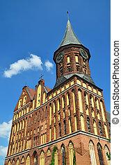 Koenigsberg Cathedral Kaliningrad formerly Koenigsberg,...
