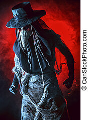 epidemic - Terrible plague doctor Medieval Europe Halloween...