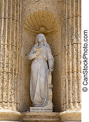 catherine of alexandria - statue of catherine of alexandria,