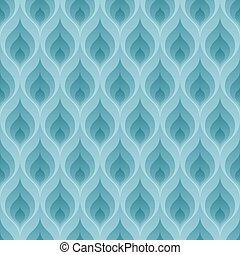 Blue flame pattern - Blue flame wallpaper. 3d seamless...
